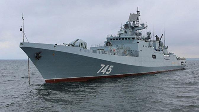 Фрегат «Адмирал Григорович»: и один в море воин