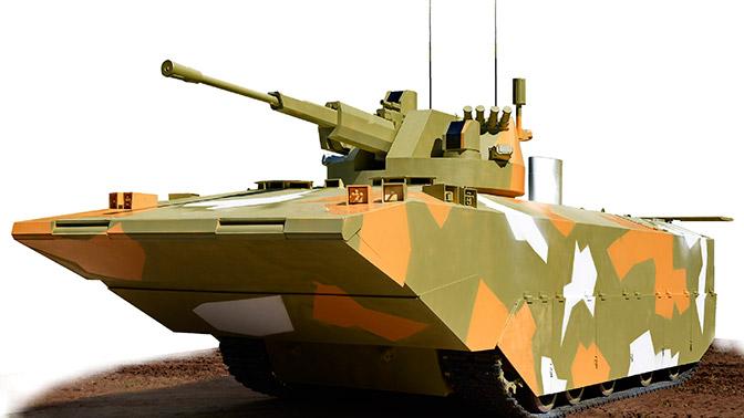 Первые изображения новой российской боевой машины морской пехоты появились в Сети