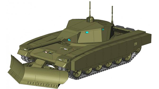 Первые изображения роботизированной БМПТ и штурмового танка появились в Сети
