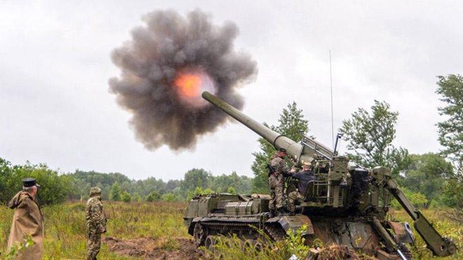 Артиллеристы в Сибири получили самоходки 2С7СМ «Малка»