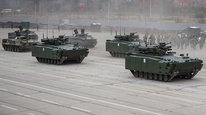 БМП «Курганец» начнут поступать в войска с 2019 года - производитель