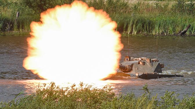 Испытания новой самоходной пушки «Спрут-СДМ 1» начнутся в октябре