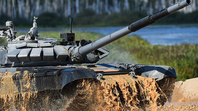 Новейший танк впервые испытали в Благовещенске