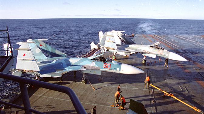 Новый российский авианосец может получить расширенную палубу