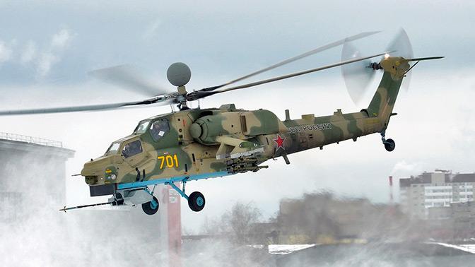 Госиспытания еще двух модернизированных Ми-28НМ начнутся до конца 2018 года