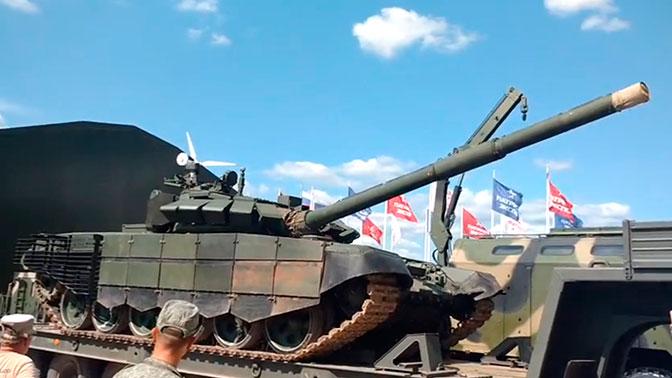 В ВС РФ поставят улучшенные танки Т-72Б3М