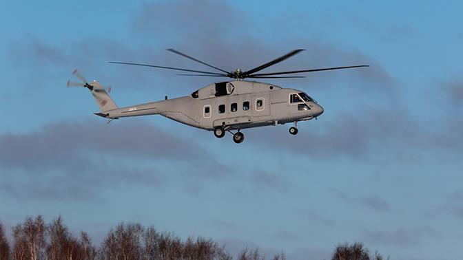 Армия получит два вертолета Ми-38Т в 2019 году