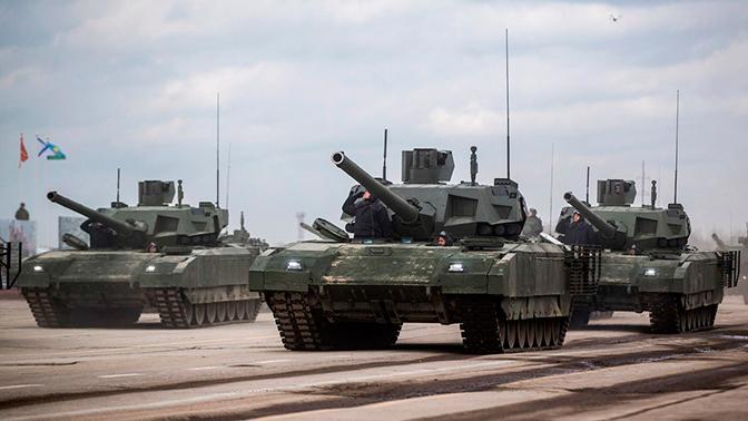 Названа дата, когда танк Т-14 «Армата» приступит к госиспытаниям