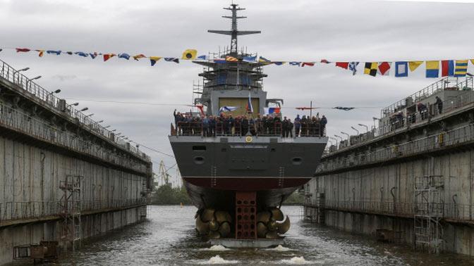 Стало известно, когда корвет «Гремящий» поступит в состав ВМФ РФ
