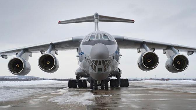 Новейший ИЛ-76 будет передан ВКС РФ на следующей неделе