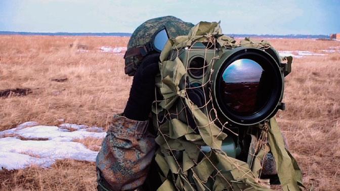 Оптико-электронный комплекс разведки «Ирония» впервые сняли во время учений