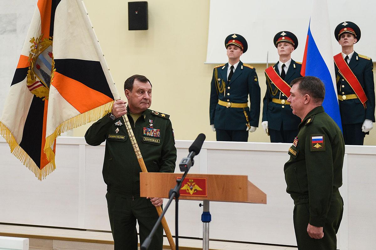 Назначение Александра Журавлева командующим войсками ВВО