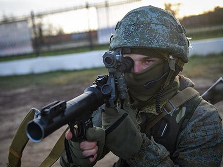 Первый батальон ВДВ в Крыму