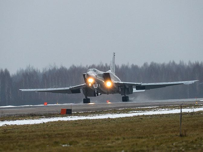 Из Сирии с победой: в Калужскую область вернулись экипажи Ту-22М3