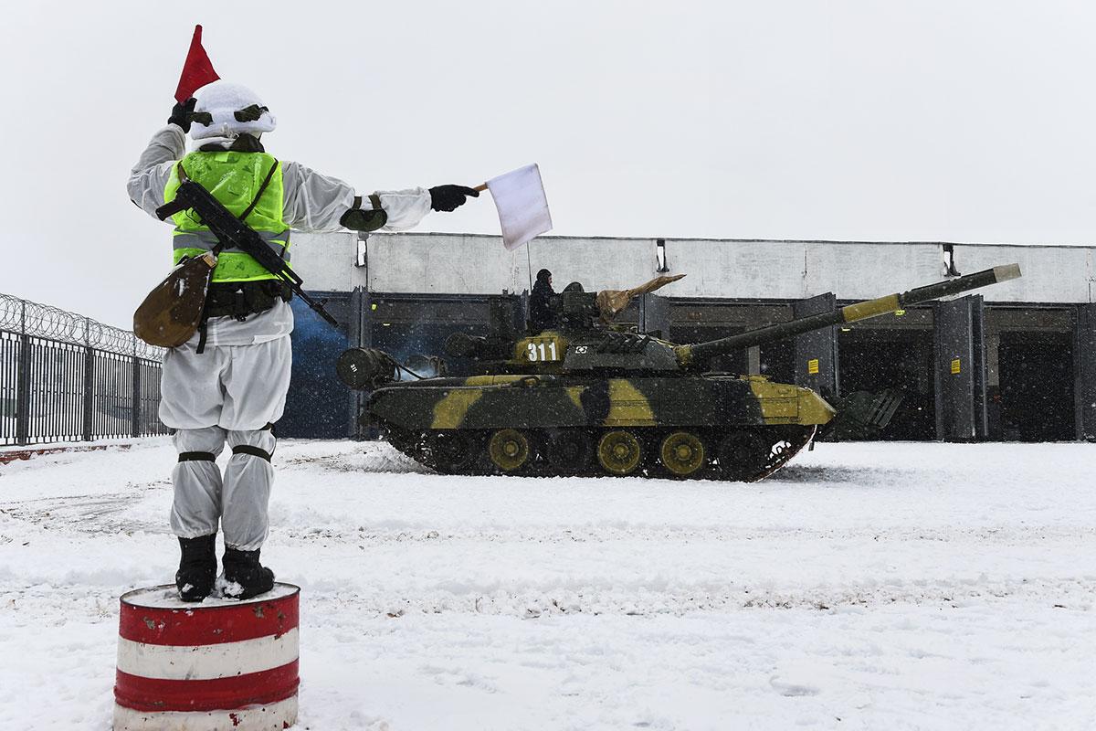Юбилей танковой армии ЗВО