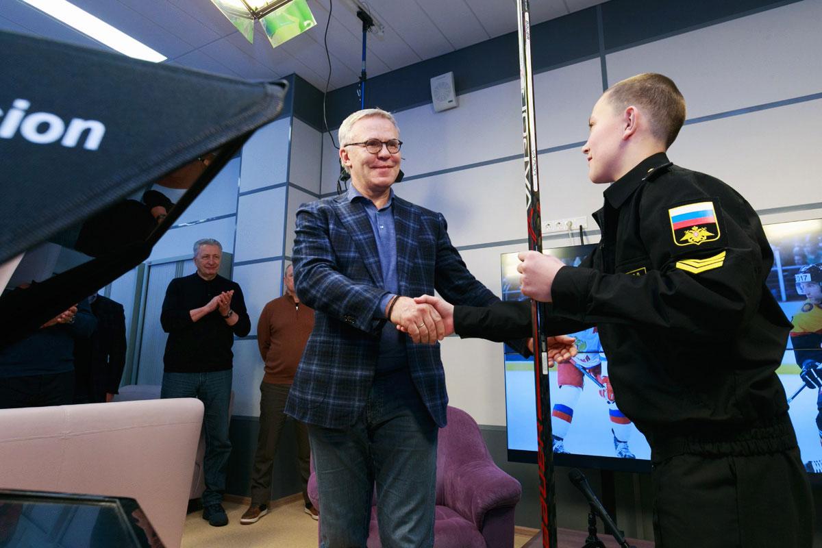 Рабочая поездка министра обороны Сергея Шойгу в Мурманск