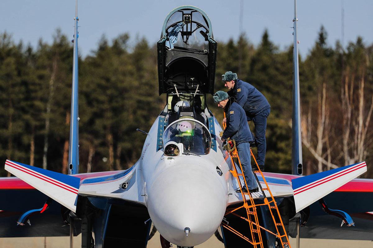 Первый слет: подготовка ВКС к воздушной части Парада Победы