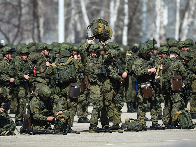 Контрольная работа: командующий ВДВ проверил боевую подготовку ульяновских десантников