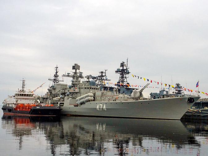 Самый юный: Северный флот отметил юбилей