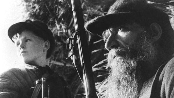 Уникальные архивные кадры жизни тех, кто сражался за Родину в рядах партизанских отрядов