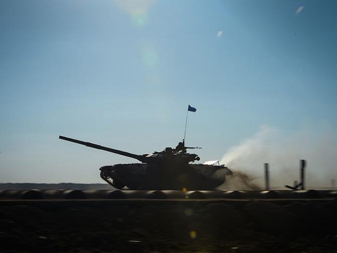 Лучшие из лучших: российские военные стали победителями конкурса «Танковый биатлон»