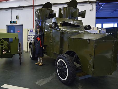 100 лет дорог: век назад была основана автобаза Министерства обороны