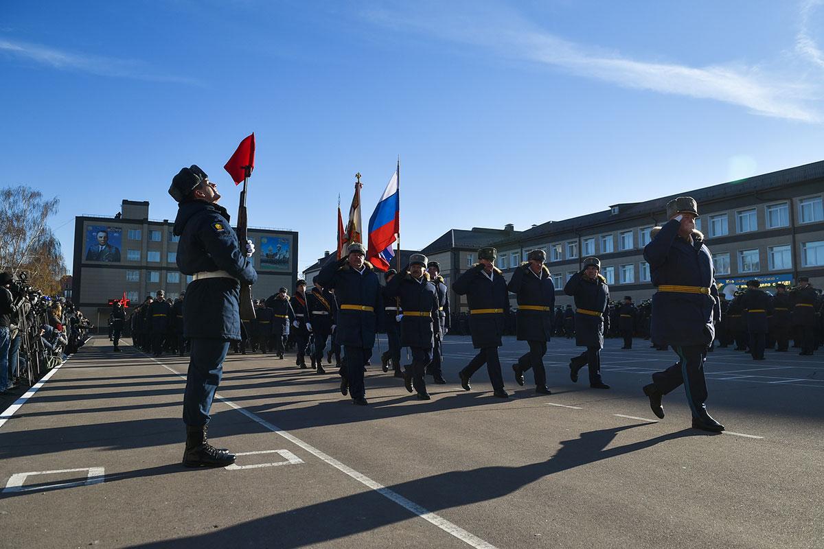 Стать, как Маргелов: Рязанское училище отметило столетний юбилей