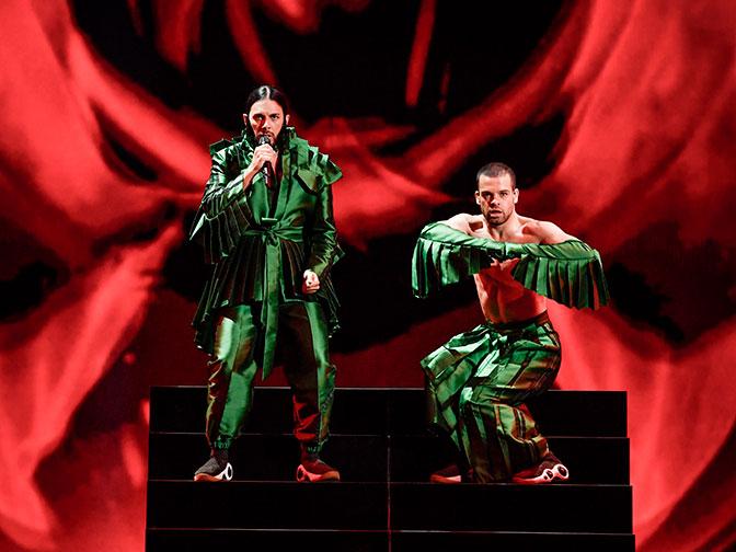 Глаза бы мои не глядели: самые провальные наряды на «Евровидении»