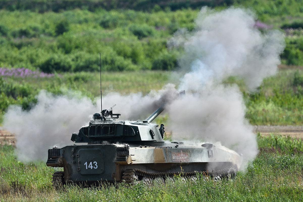 Огонь на поражение: зрелищные кадры закрытого динамического показа на форуме «Армия-2019»