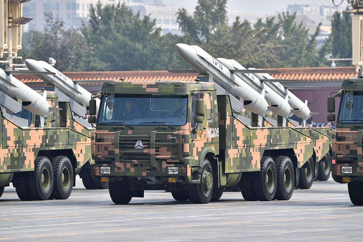 Сверхзвуковая крылатая ракета YJ-18