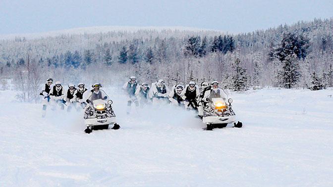 Военные и ученые изучат места базирования немецких войск в Арктике