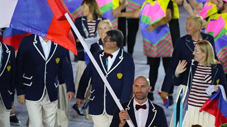 Стали известны имена знаменосцев сборной РФ на церемонии закрытия Олимпиады