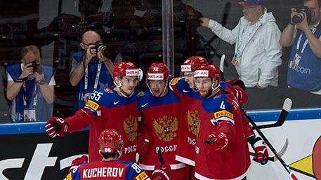 Сборная России сразится с канадцами в полуфинале ЧМ по хоккею