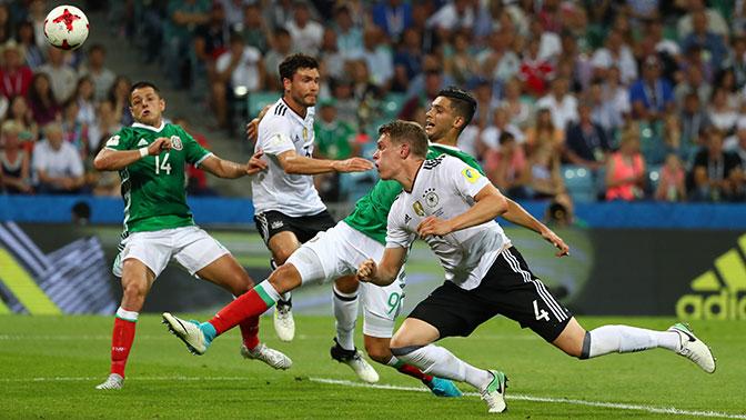 Германия вышла в финал Кубка конфедераций