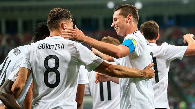 «Россия с блеском прошла это испытание» – капитан сборной Германии о Кубке конфедераций
