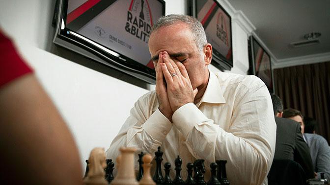 Каспаров занял восьмое место после возвращения в шахматы