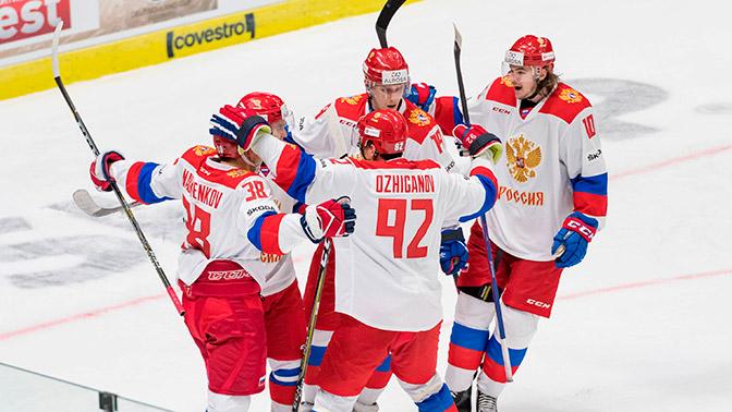 Стал известен возможный вариант формы российских хоккеистов на Олимпиаде-2018