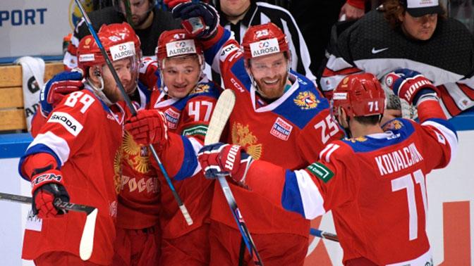 Сборная РФ обыграла Канаду вматче Кубка Первого канала