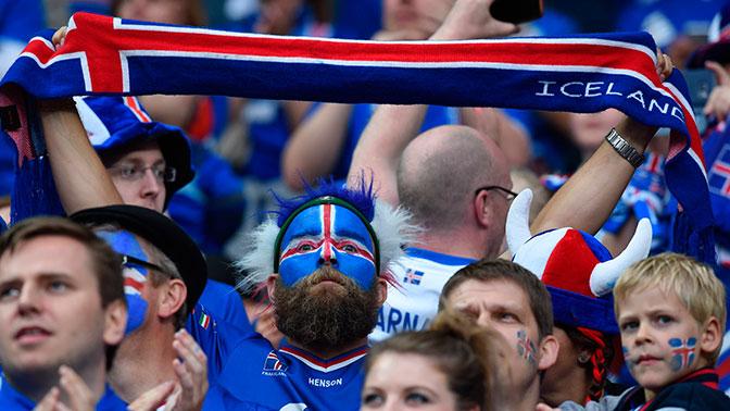 Исландский фанат Гундермурд Сигурдфлордбрадсен пожаловался на тяжелые названия городов РФ