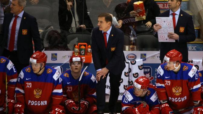 Фетисов прокомментировал неудачу сборной на молодежном ЧМ