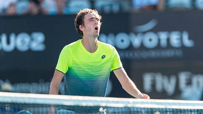 Российский теннисист Даниил Медведев впервые выиграл турнир ATP