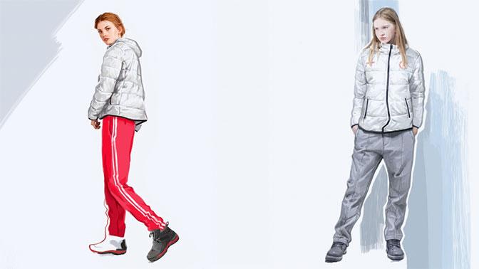 Представлены эскизы формы российских спортсменов на ОИ-2018