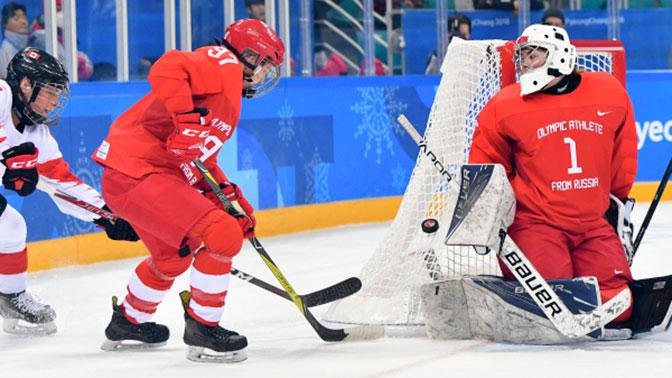 Судьи из США проигнорировали удар клюшкой по горлу российской хоккеистки