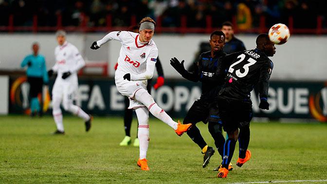 «Локомотив» победил «Ниццу» и вышел в 1/8 финала Лиги Европы