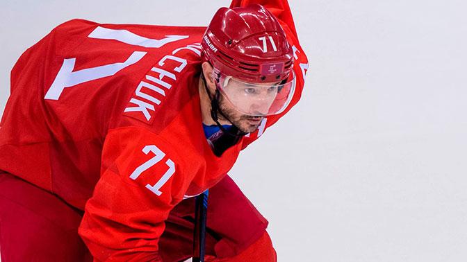 Лучшим нападающим хоккейного турнира Олимпийских игр-2018 признан Никита Гусев