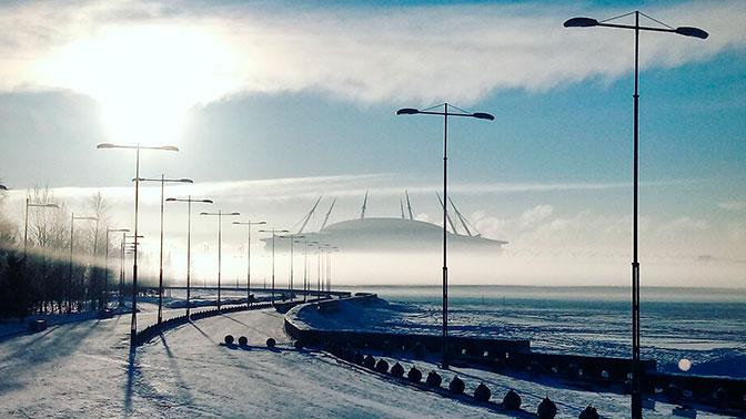 Стадион «Зенита» превратился в «космический корабль»