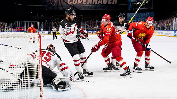Россия уступила Канаде в четвертьфинале чемпионата мира по хоккею