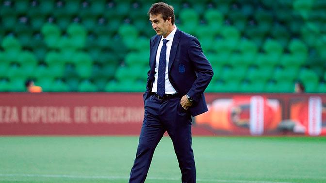 Лопетеги прокомментировал свою отставку с поста главного тренера сборной Испании
