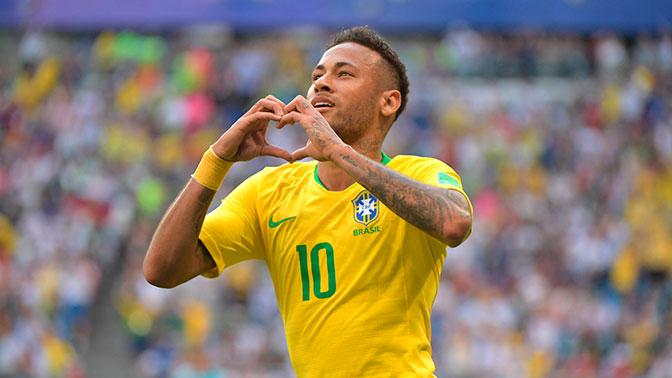 Сборная Бразилии победила команду Мексики в 1/8 финала ЧМ-2018