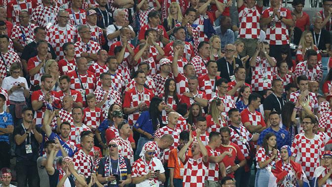FIFA вынесла второе предупреждение Хорватскому футбольному союзу